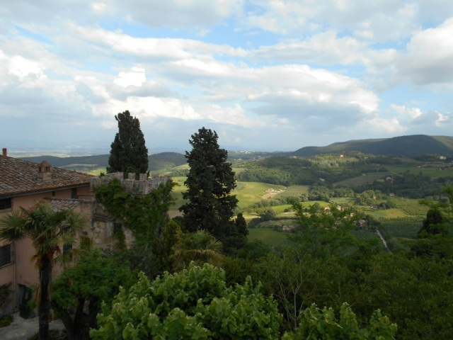 view from my bedroom! Montepulciano