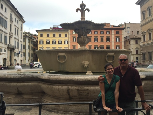 In Piazza Faranese