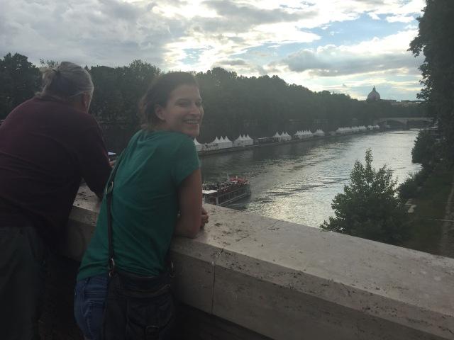 River Tiber at Ponte Sisto