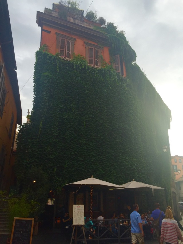 Typical scene in Trastevere