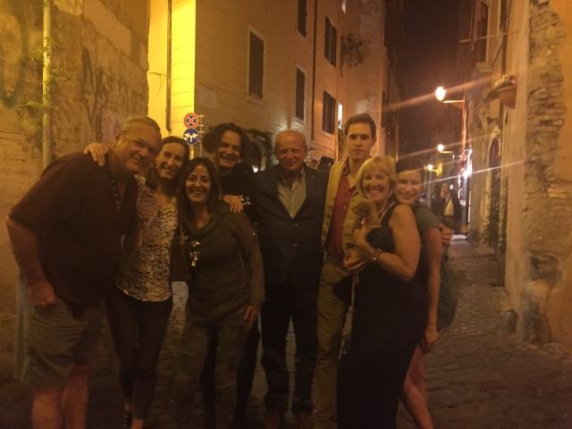 Here we are with the entire gruppo, including Gabriel Altobello.