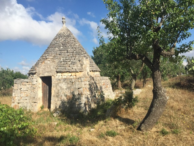 Trullo near our house. Used to store livestock in winter.