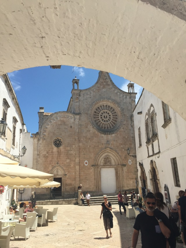 The cathedral in Ostuni