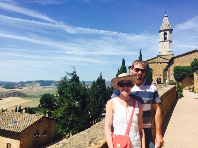 Sandra and Karl in PIenza
