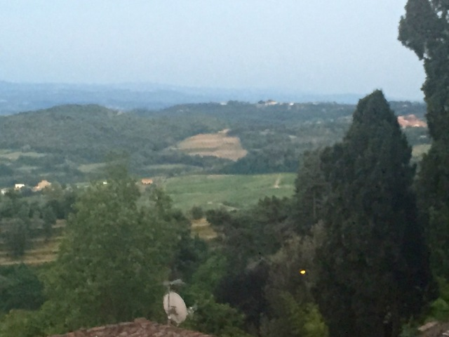 View from Poliziano