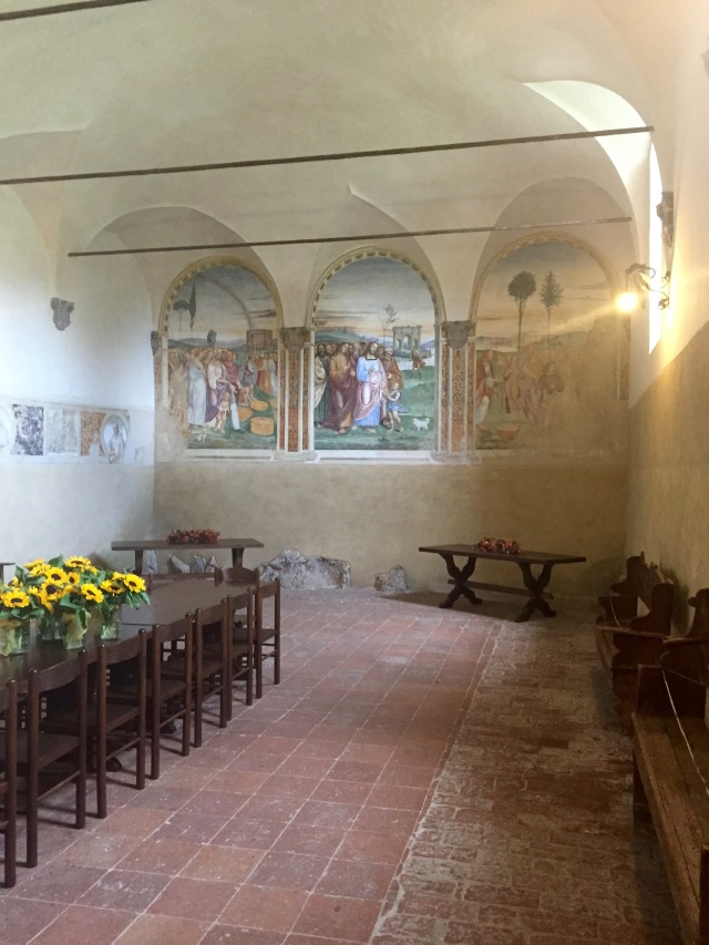 Rectory of Sant'Anna di Camprena: Early Frescoes by Sodoma