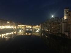 Ponte Vecchio alla notte