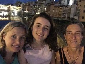 Selfie on the Santa Trinità Bridge
